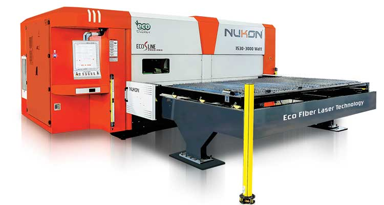nukon eco 315 s-line fiber laser cutting machine
