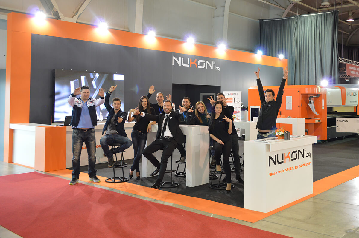 Nukon BG team at Technical Fair Plovdiv