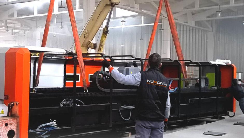 Транспорт и инсталация на лазерни металорежещи машини