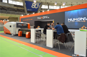 Nukon bg in Belgrade fair