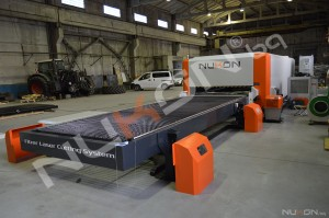 We delivered a fiber laser cutting machine with impressive dimensions: NUKON NF Pro 620 2kW in Russia