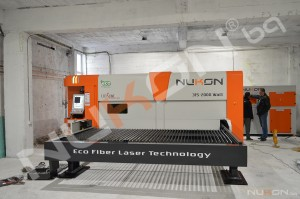 A new NUKON fiber laser cutting machine already working in Varna, Bulgaria