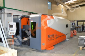 The Last Generation of Sheet Metal Cutting Machines NUKON VENTO Plus 4kW