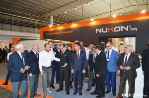Nukon Bulgaria Ltd. participated in the International technical fair of Plovdiv, Bulgaria, 2017 with the extremely fast and powerful fiber laser cutting machine Vento 315 4kW